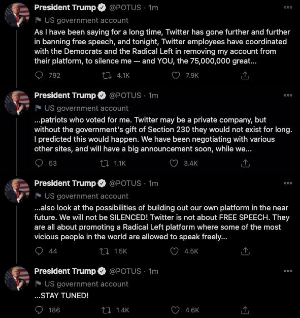 Tweet, Twitter, Trump