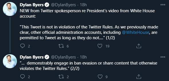 Twitter, Dylan Byers, NBC