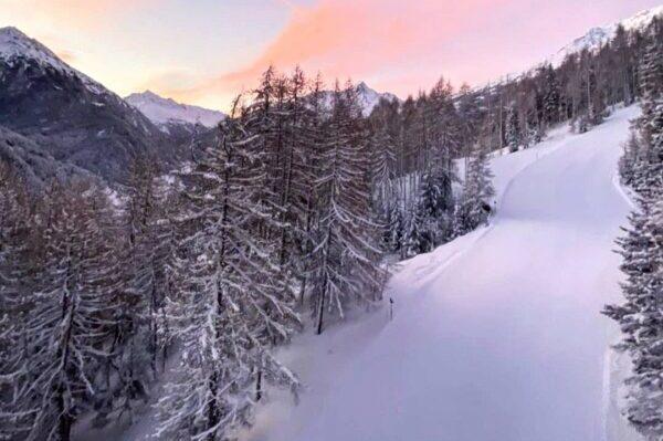 Sölden, Winter, Natur, Wald