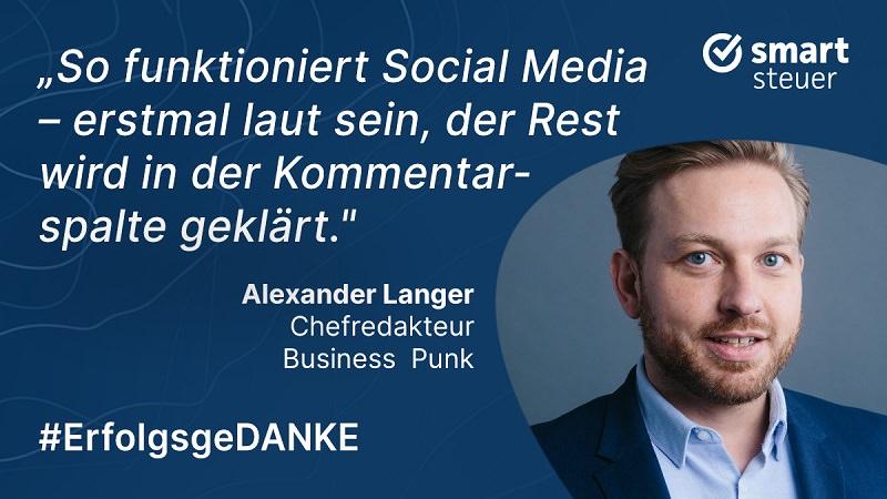 Alexander Langer, Business Punk