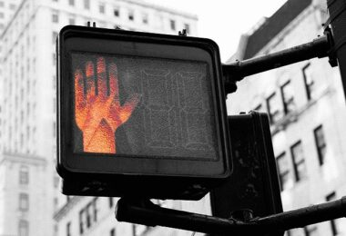 Halt, Stop, Ampel, Stopschild, Job-Absage