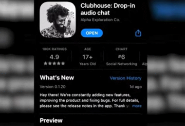 Clubhouse, App