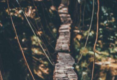 Hängebrücke, Brücke, Weg, Risiko