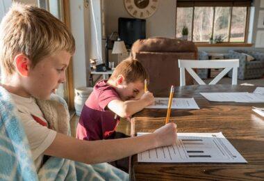 Homeschooling, digitale Schule, digitaler Unterricht