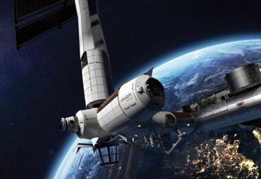 ISS, Axiom Space Station, Raumfahrt