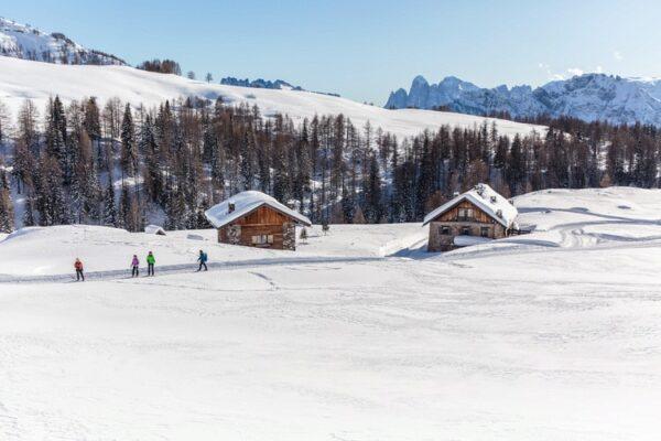 Italien, Schneegebiet, Schneehütte