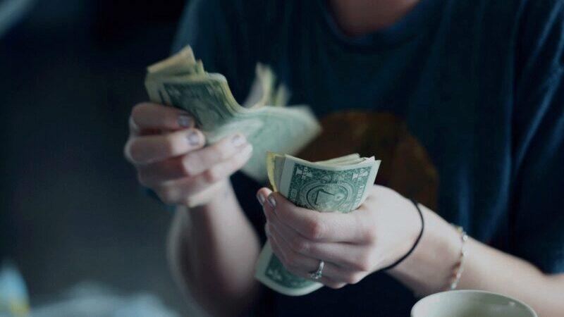 Geld, Geld zählen, Money. Geldmaschine, Remote Jobs