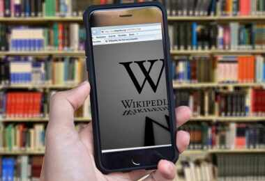 Wikipedia, Lexikon, Bücherei