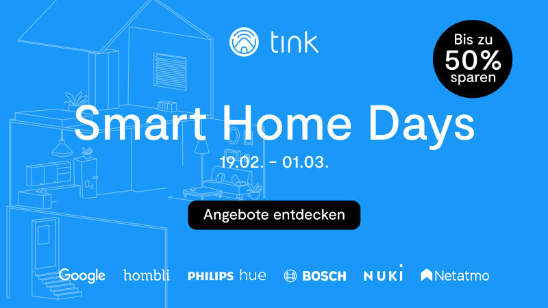 Smart Home Days 2021 tink Angebote
