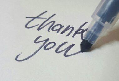 Thank you, Danke, Dankeschön, danke dir, Dankbarkeit am Arbeitsplatz