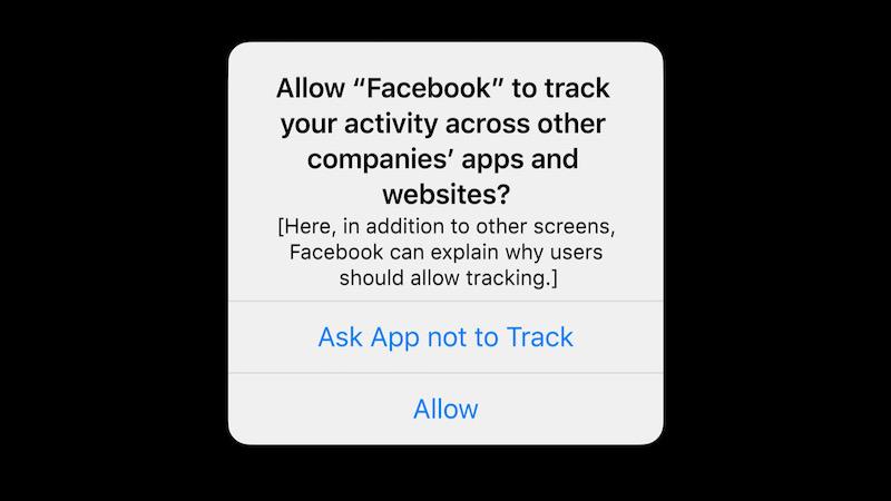 Apple, iPhone, Screenshot, Datenschutzhinweis, Datenschutz bei Apple