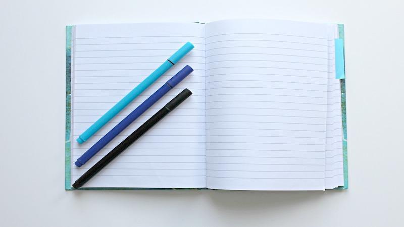 Notizblock, Notizen, Stift, Papier, Bleistift