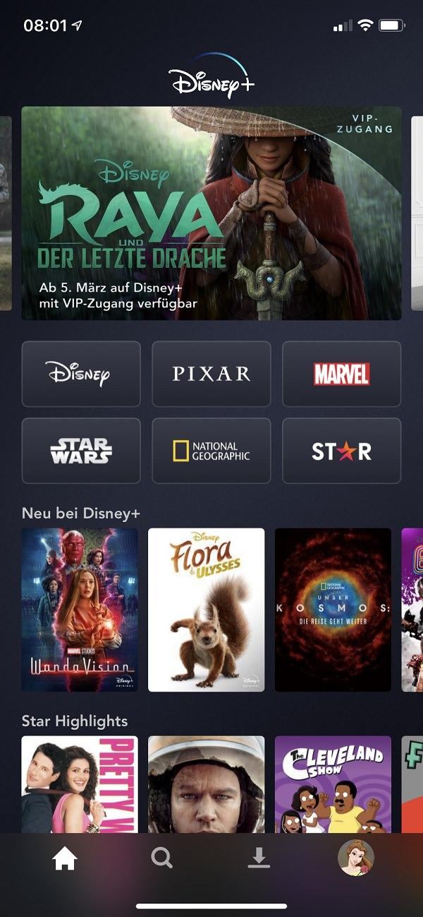 Disney Plus Star, Disney+ Star