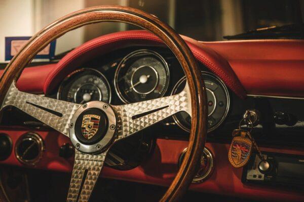 Porsche, Auto, Lenkrad