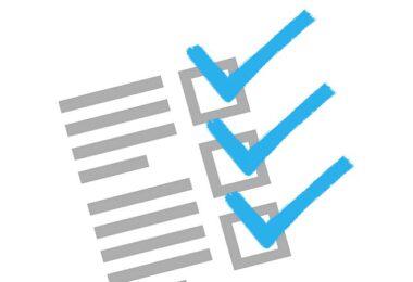 Haken, Checkliste, Liste, Kontrolle, Datenschutzinformationen im Internet