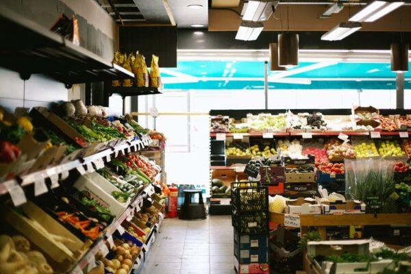 Supermarkt, Lebensmittel