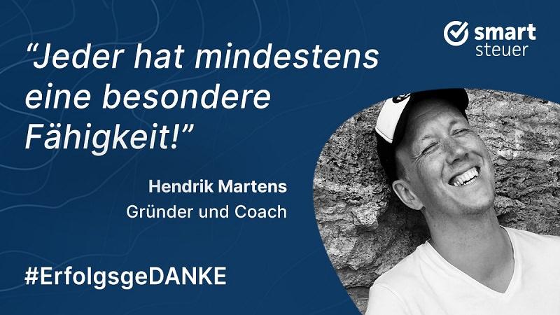 Hendrik Martens, NLP, Coach, ErfolgsgeDANKE, Podcast, Sinnfluencer