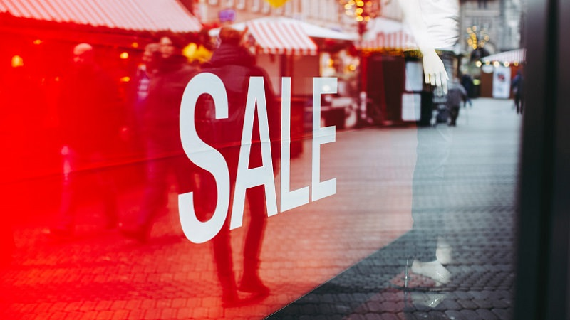 Sale, Verkauf, Werbung im Lockdown, Lockdown Werbung, Lockdown-Werbung