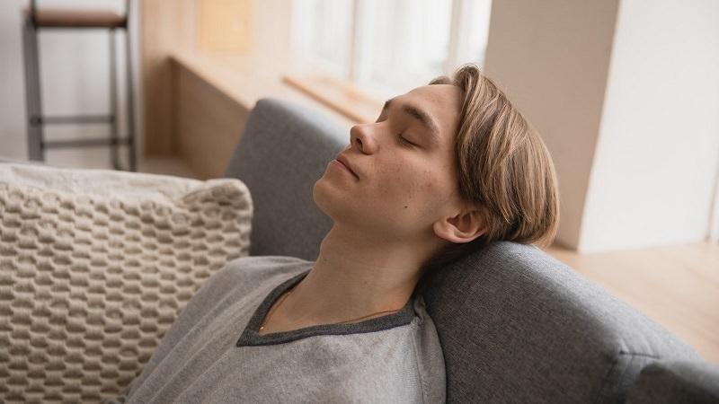 Schlaf, schlafen, Sofa, Sofa schlafen, Netflix Sleep Timer