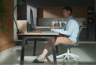 Smart Monitor Samsung Hybride Welt