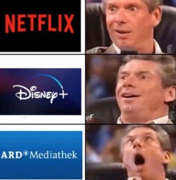 Meme, sarkastische Memes zu GEZ-Gebühren, Rundfunkbeitrag