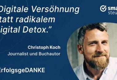 Christoph Koch, Keynoteria, ErfolgsgeDANKE, Podcast, Björn Waide