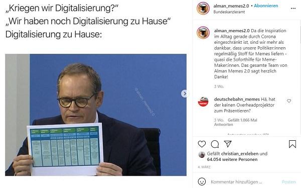 Michael Müller, Berlin, Berlins Bürgermeister, Digitalisierung, Home-Office-Memes