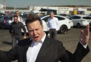 Elon Musk, Brandenburg, Giga Berlin