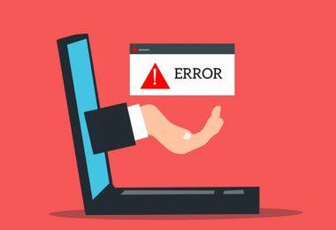 Fehler, Error, Mistake, Laptop, Computer, E-Mail-Fehler