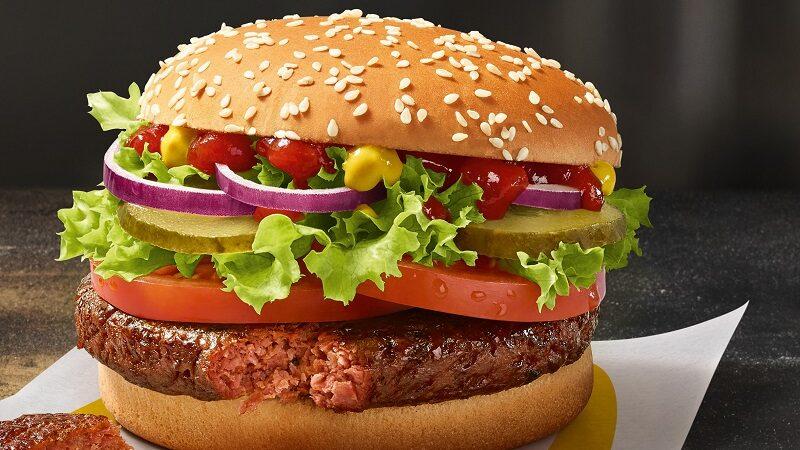 McDonalds Big Vegan, Burger, Fast Food, McDonald's