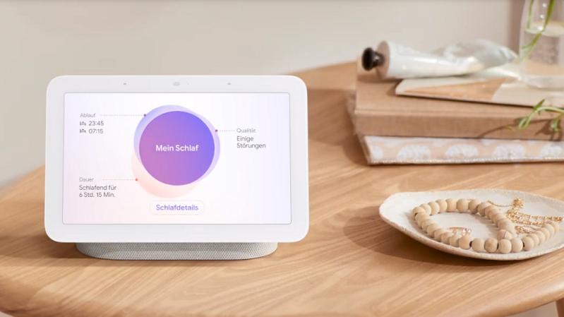 Google, Nest Hub, Schlafanalyse