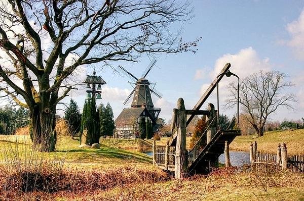 Niedersachsen, Mühle, Windrad, Gehalt in Deutschland