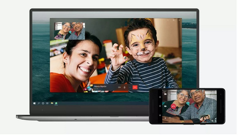 WhatsApp-Videoanrufe, Whatsapp Videotelefonate, Telefonieren mit WhatsApp am Computer, Telefonieren mit WhatsApp am Laptop