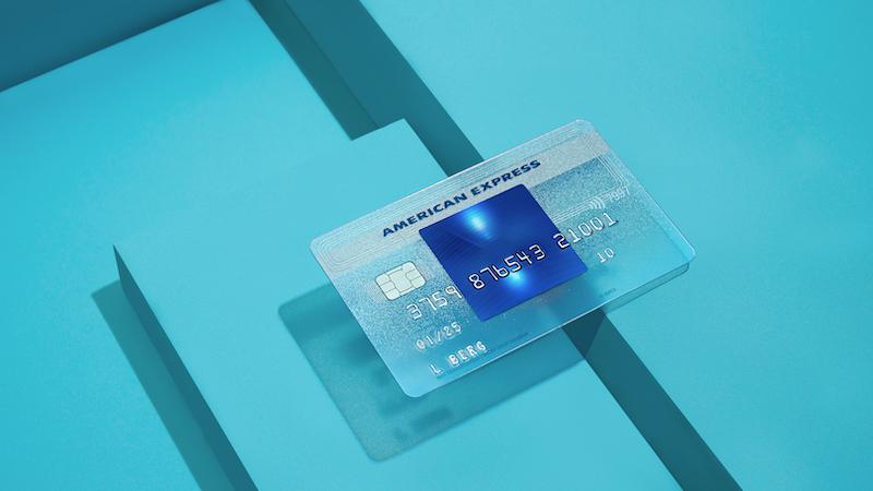 Amex Blue kostenlose Kreditkarte