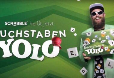 Scrabble, Buchstaben YOLO, PR-Gags