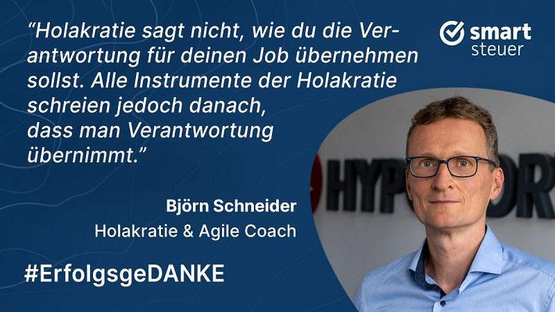 Björn Schneider, Agile Coach, Holakratie, Holacracy Coach, ErfolgsgeDANKE, Podcast