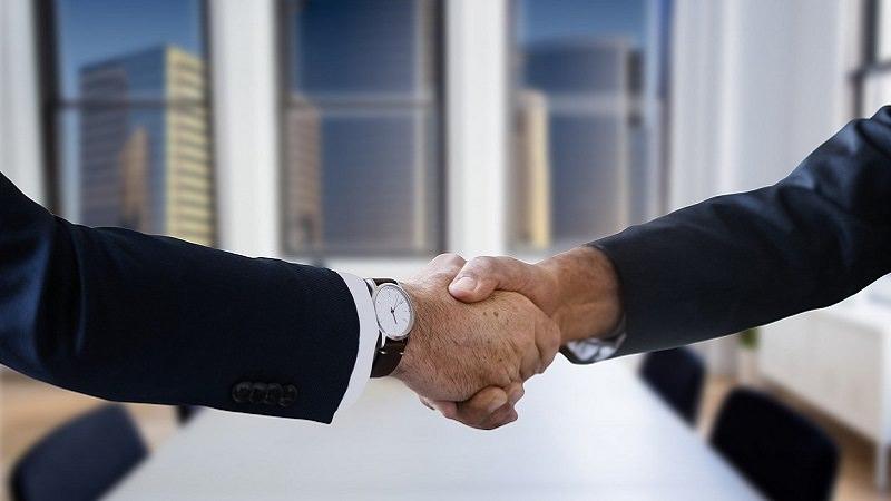 Verhandlung, Handschlag, Vereinbarung, erfolgreiche Verhandlungen, erfolgreich verhandeln