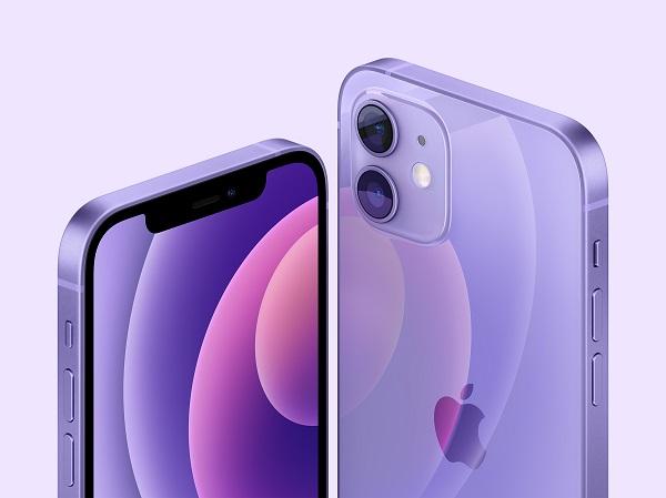 iPhone 12, iPhone 12 Mini, lila, Apple Spring 2021