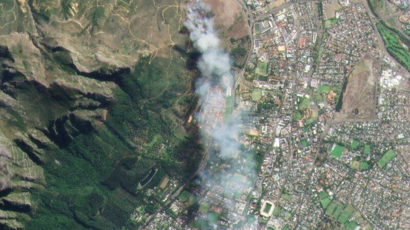 Kapstadt, Tafelberg, Carbon Mapper, Satelliten, Emissionen