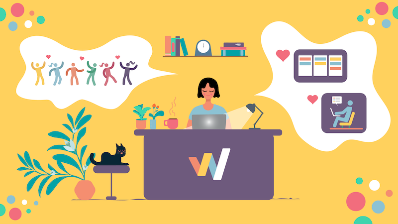 Workstreams.ai Home Office Aufgaben Tool Kommunikation