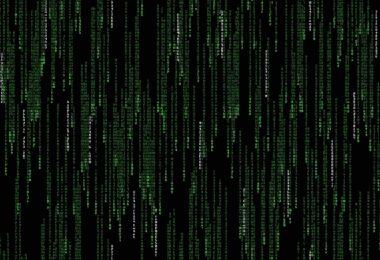 Matrix, Computer, Grafik, Dark Mode