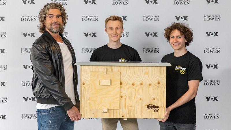 EasyBeeBox, Easy Bee Box, Die Höhle der Löwen, DHDL, Nils Glagau