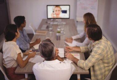 Video Calls, Zoom Meeting, Video Meeting, Gut aussehen im Video Call