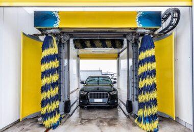 Auto, Waschanlage, waschen, Autowäsche, Clever Waschen