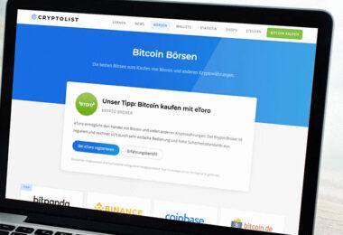 Bitcoin Börsen Wallets Cryptolist