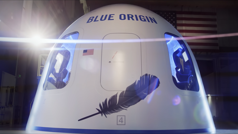 Blue Origin, Amazon, Jeff Bezos, Weltraum, Weltraumtourismus