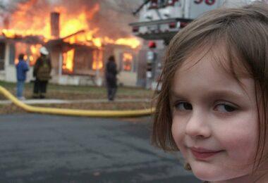 Disaster Girl, Zoe Roth, Meme, Memes