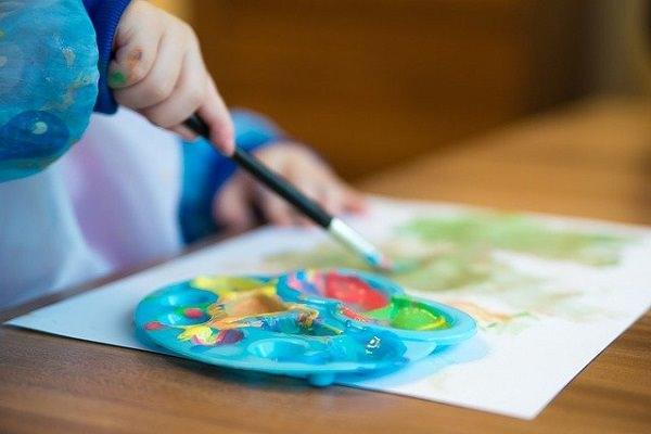 Malen, Wassermalfarben, Malkasten, Kreativität, Spitzenverdiener