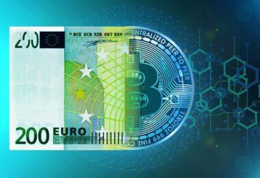 Euro, Bitcoin, Kryptowährung, Geld, Bargeld