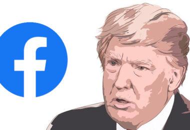 Donald Trump, Facebook, Sperrung